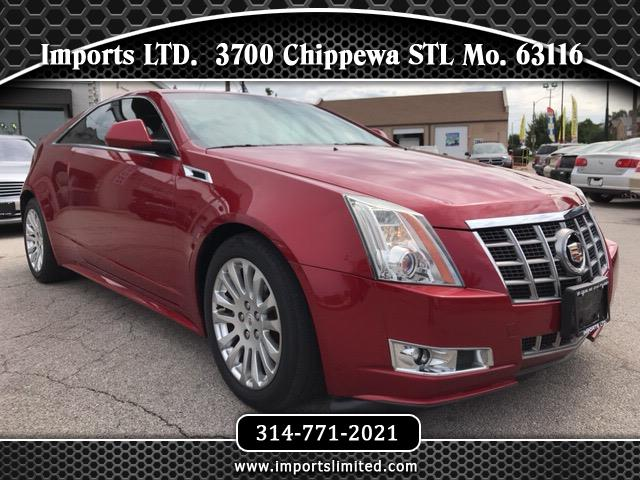 2012 Cadillac CTS Performance Coupe