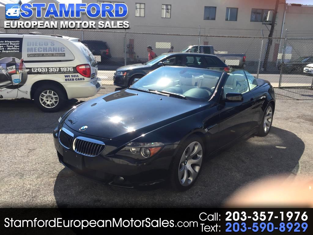 2007 BMW 6-Series 2dr Conv 650i