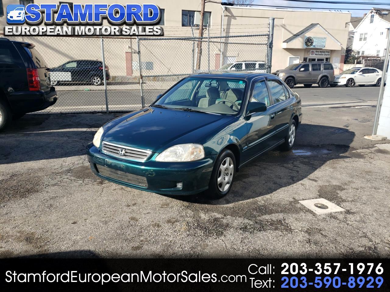 1999 Honda Civic 4dr Sdn EX Auto