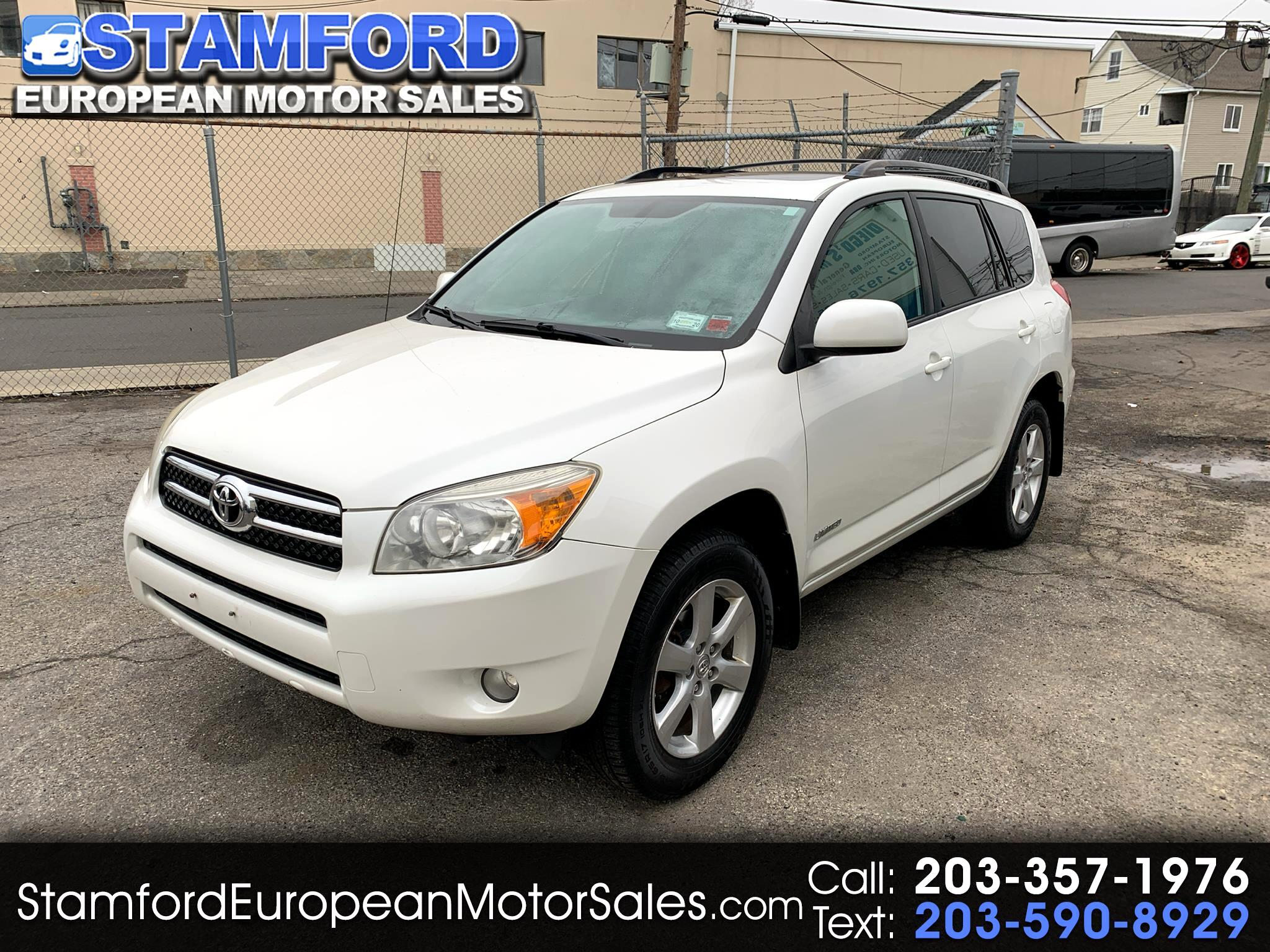 Toyota RAV4 4WD 4dr 4-cyl 4-Spd AT Ltd (Natl) 2008
