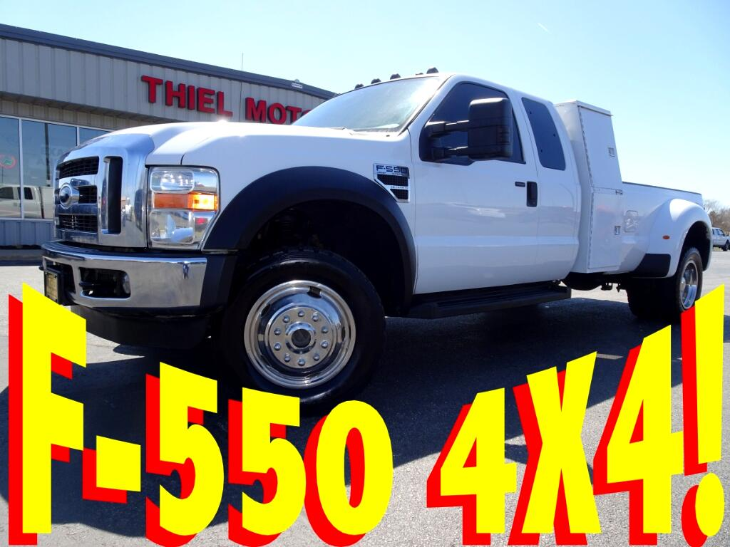 2008 Ford F-550 SuperCab 4WD DRW