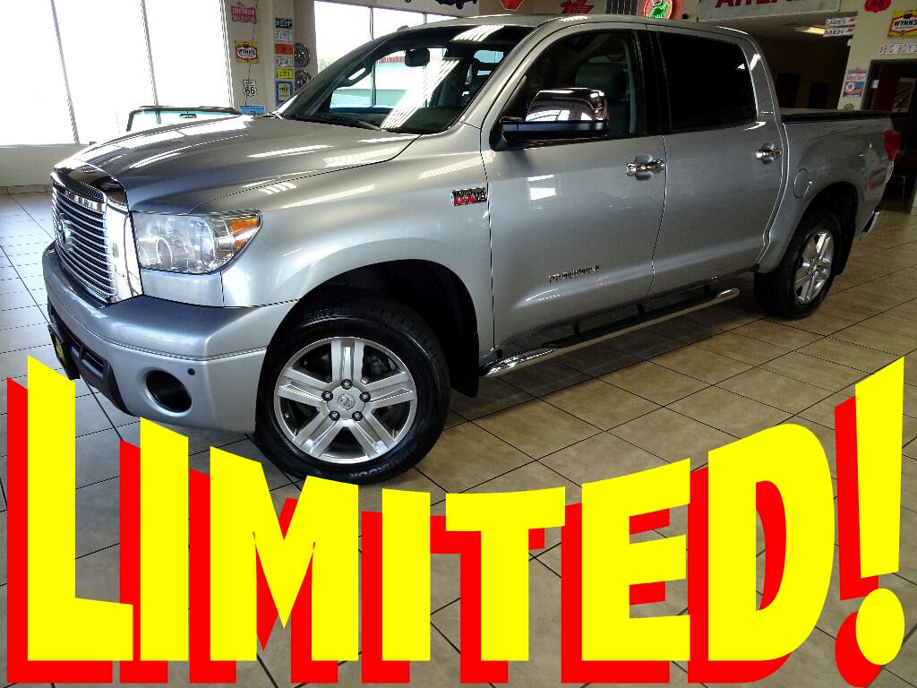 2010 Toyota Tundra Limited 5.7L FFV CrewMax 4WD