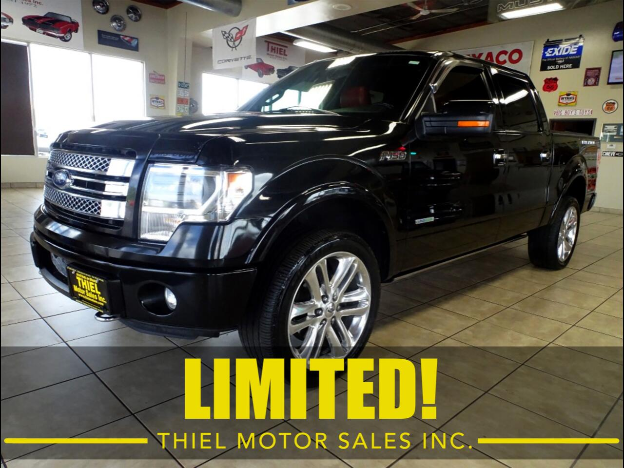 2013 Ford F-150 Limited Crew-Cab 4WD