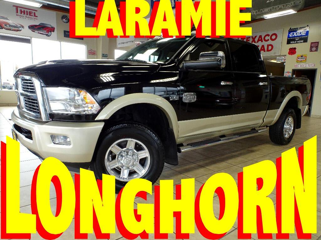2012 RAM 2500 Laramie Longhorn Edition Crew Cab SWB 4WD