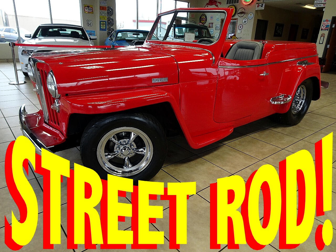 1949 Willys Jeepster Hot Rod