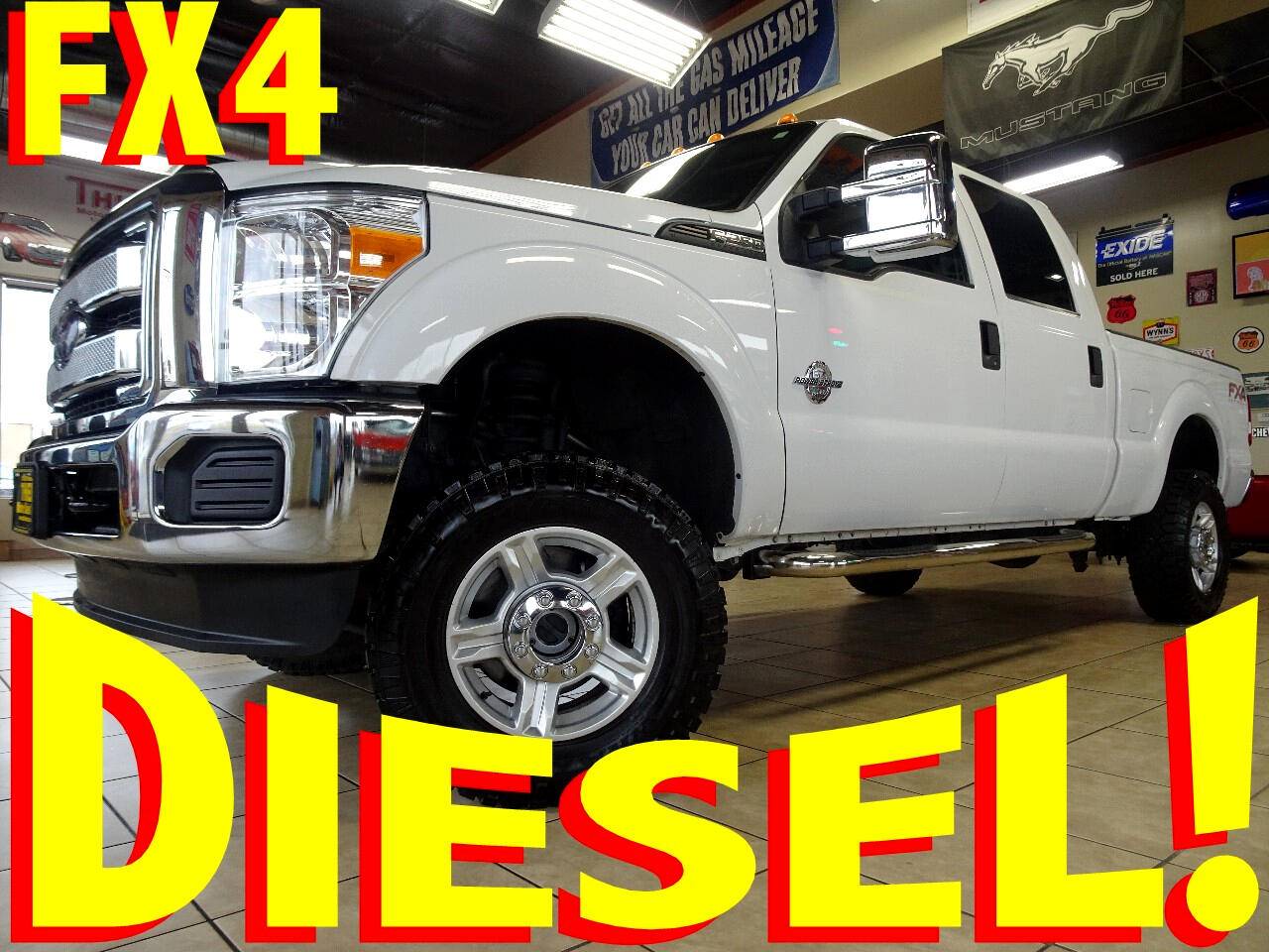 2015 Ford F-250 SD FX4 Crew Cab Short Bed 4WD