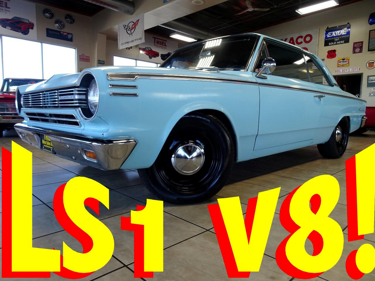 1965 Rambler American LS1 Sleeper Coupe