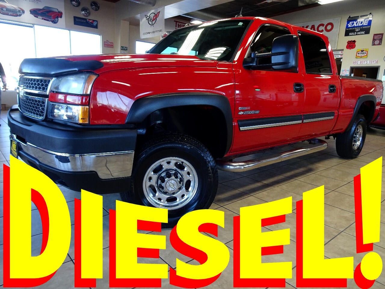 2005 Chevrolet Silverado 2500HD Crew Cab Short Bed 4WD