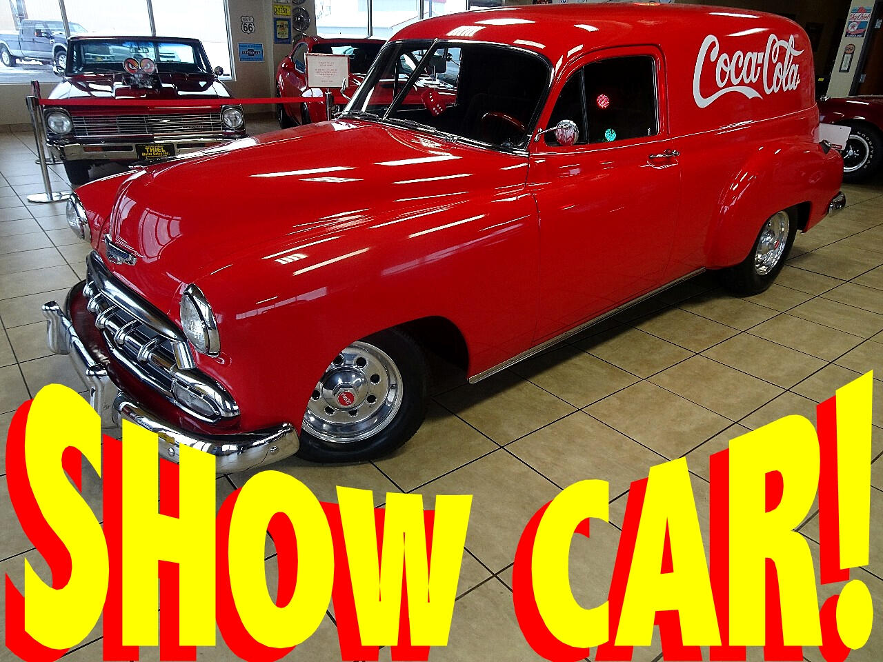 1952 Chevrolet Sedan Delivery Coke Themed