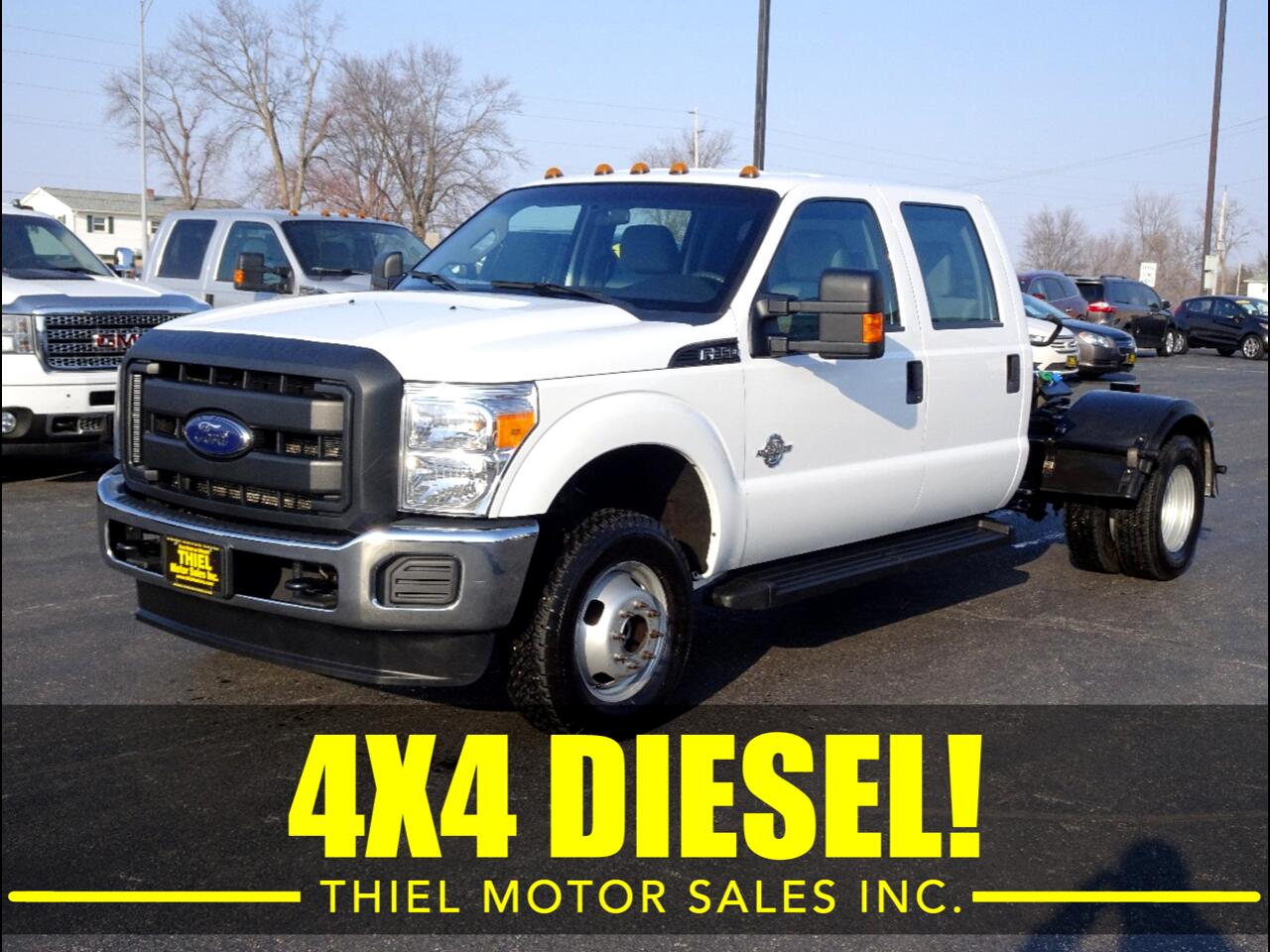 2016 Ford F-350 SD XLT Crew Cab Long Bed 4WD DRW