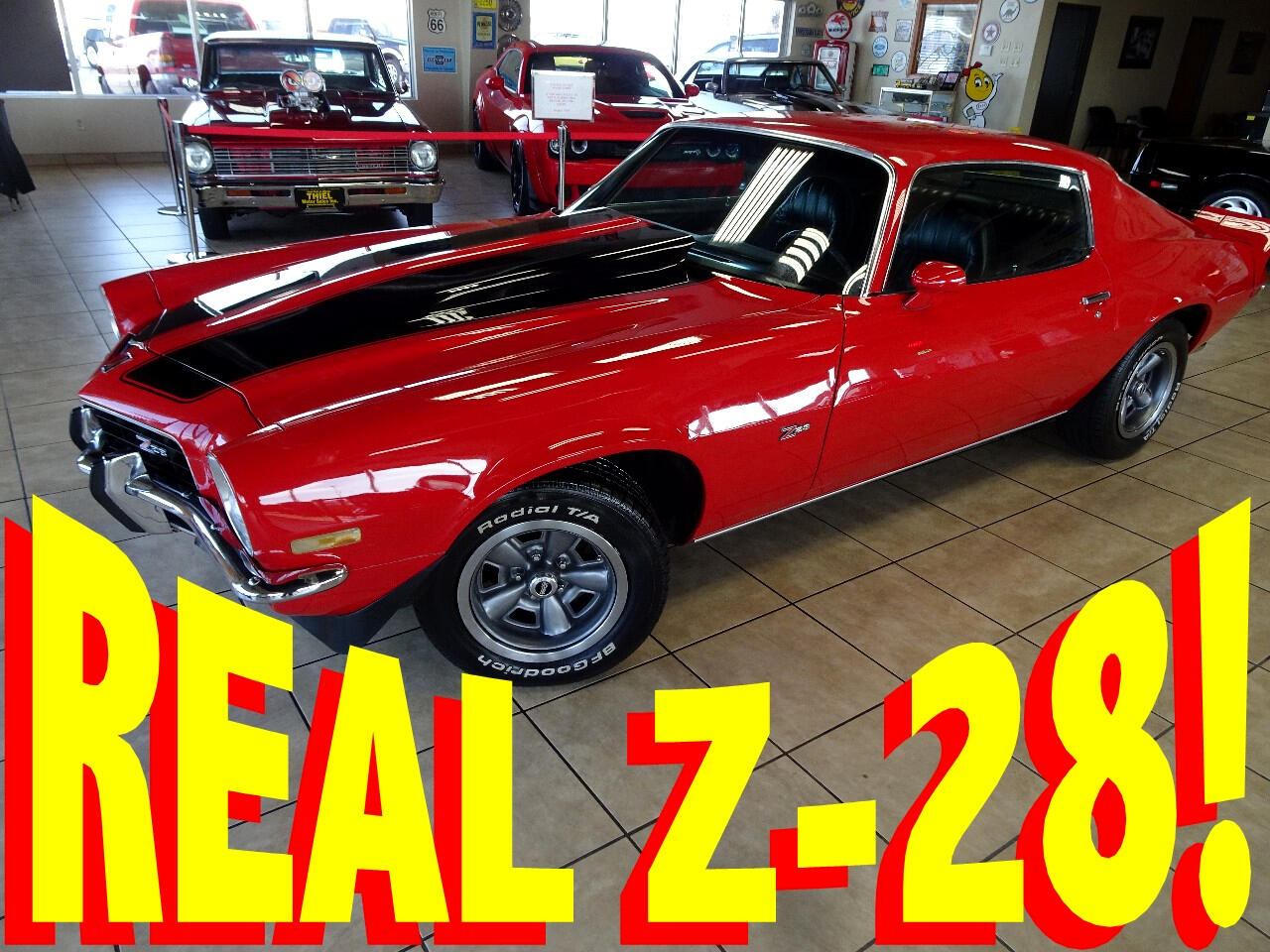 1973 Chevrolet Camaro 2dr Coupe Z28