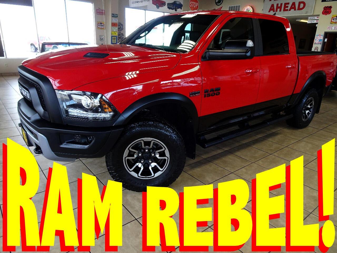 2018 RAM 1500 Rebel Crew Cab SWB 4WD
