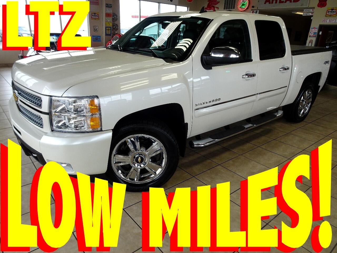 2012 Chevrolet Silverado 1500 LTZ Crew Cab 4WD