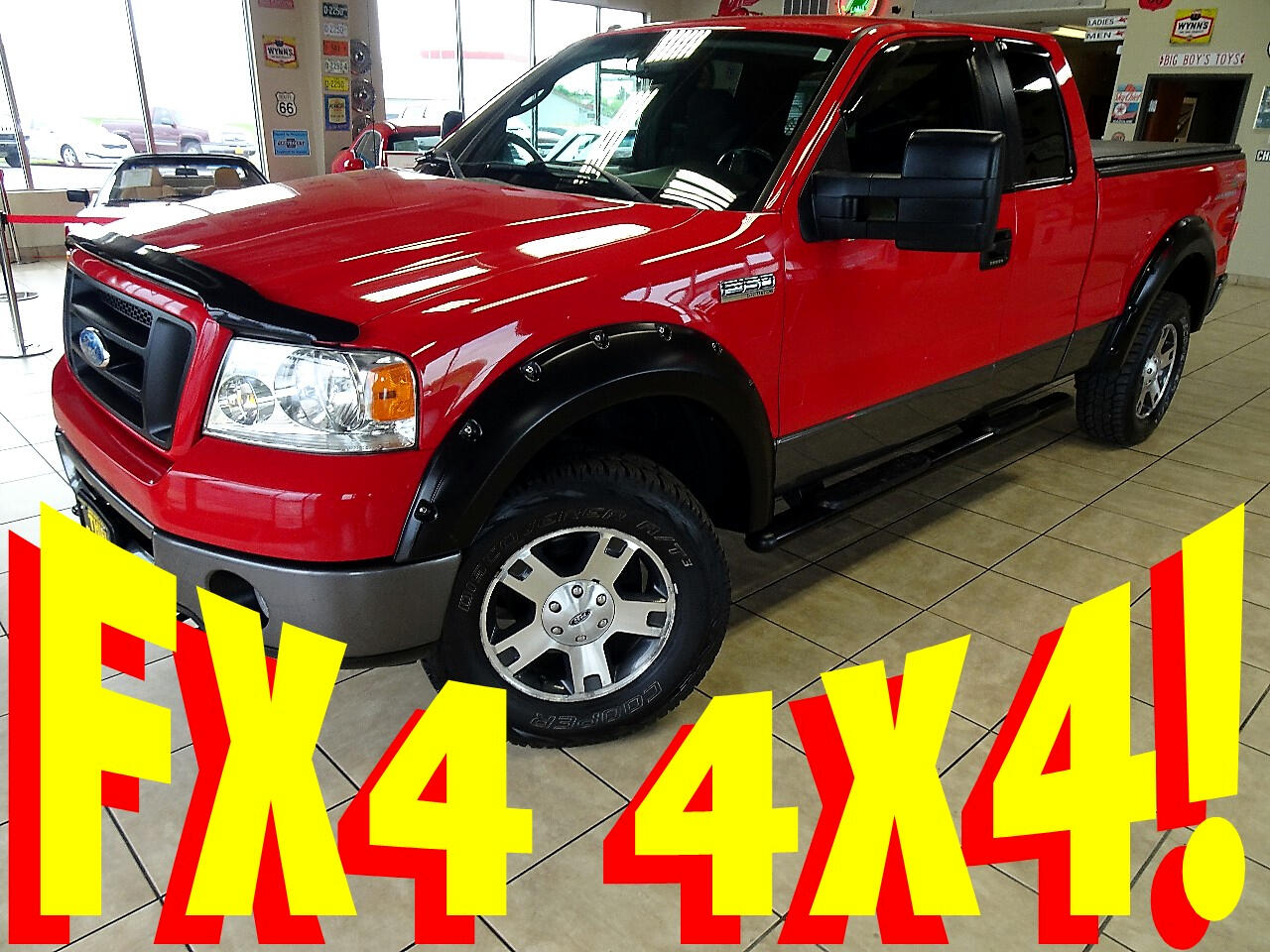 2008 Ford F-150 FX4 SuperCab Short Box