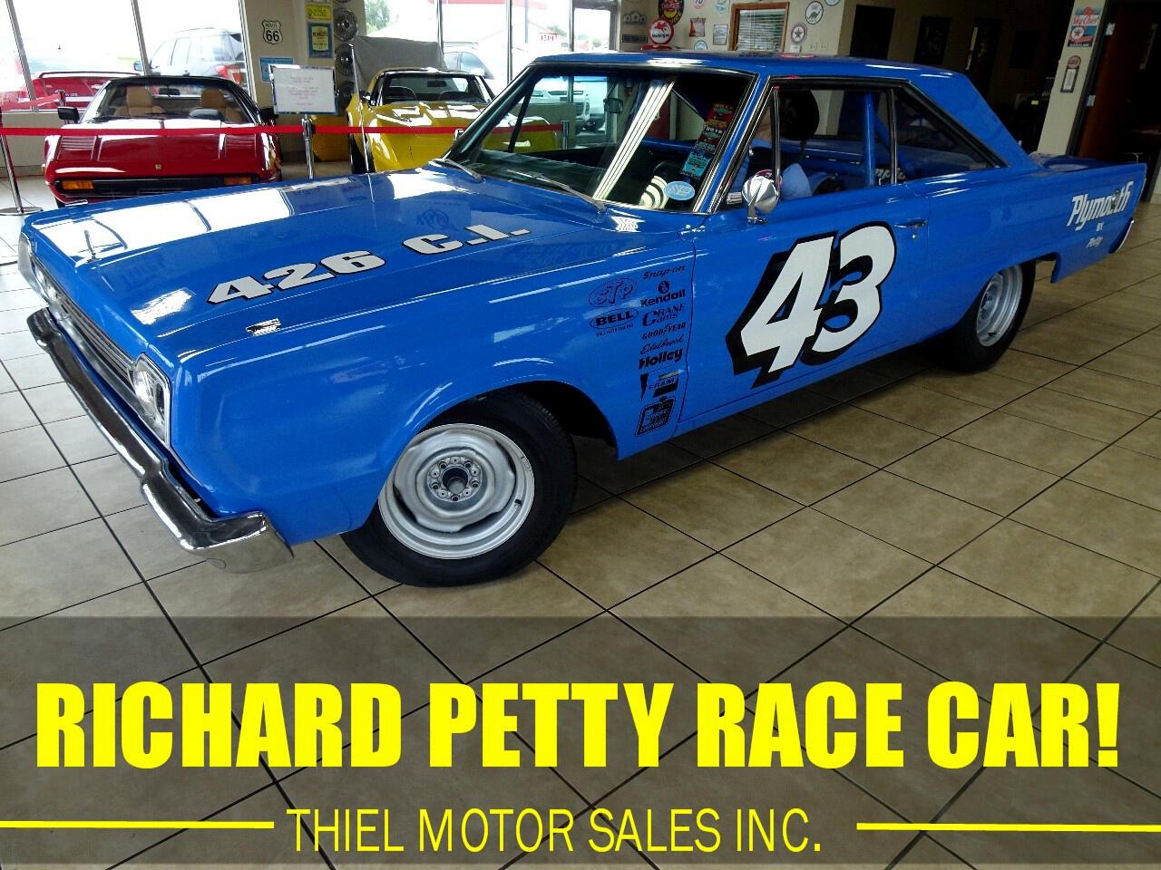 1967 Plymouth Belvedere Richard Petty Race Car
