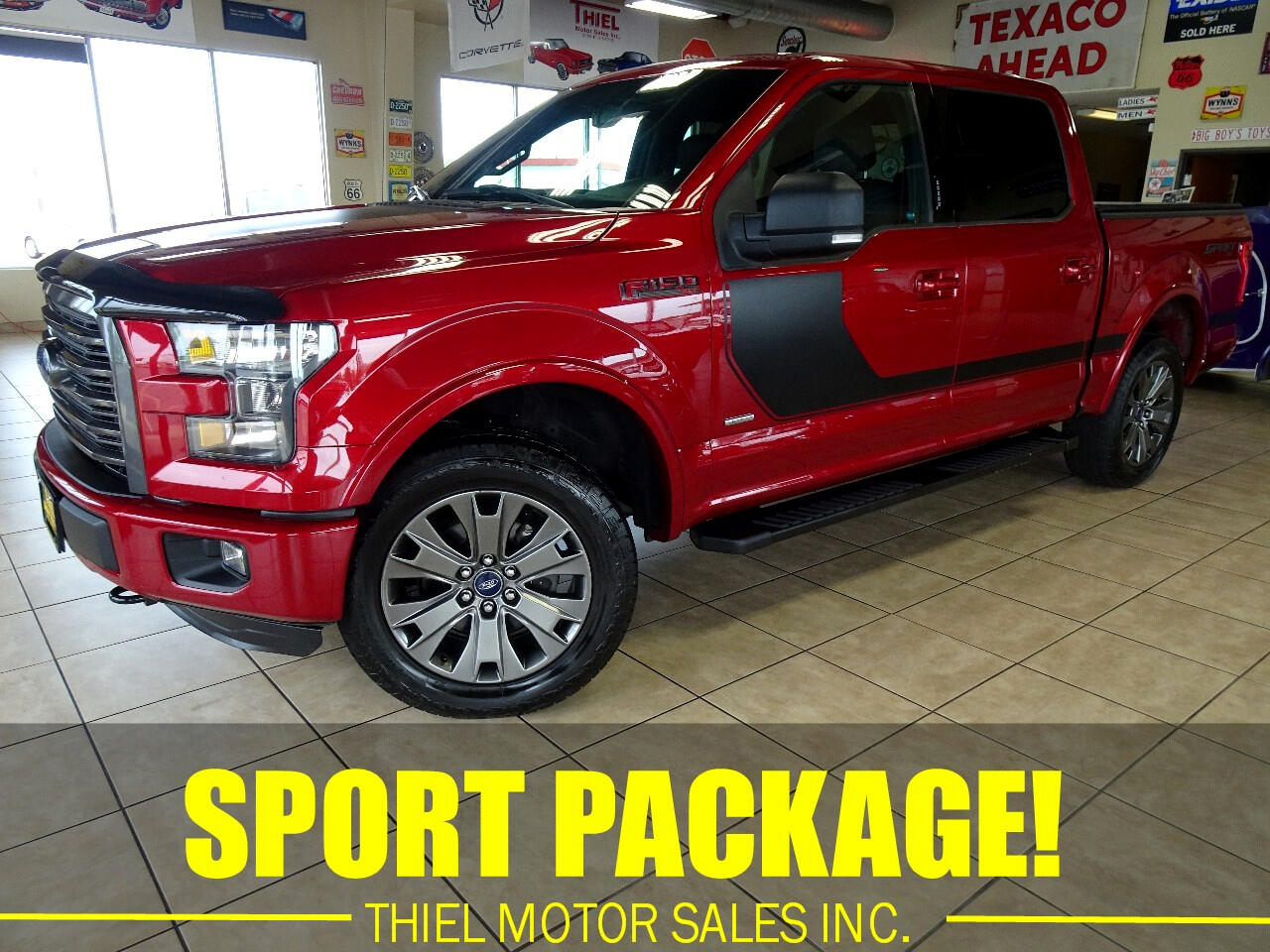 2016 Ford F-150 XLT SPORT SuperCrew 5.5-ft Bed 4WD