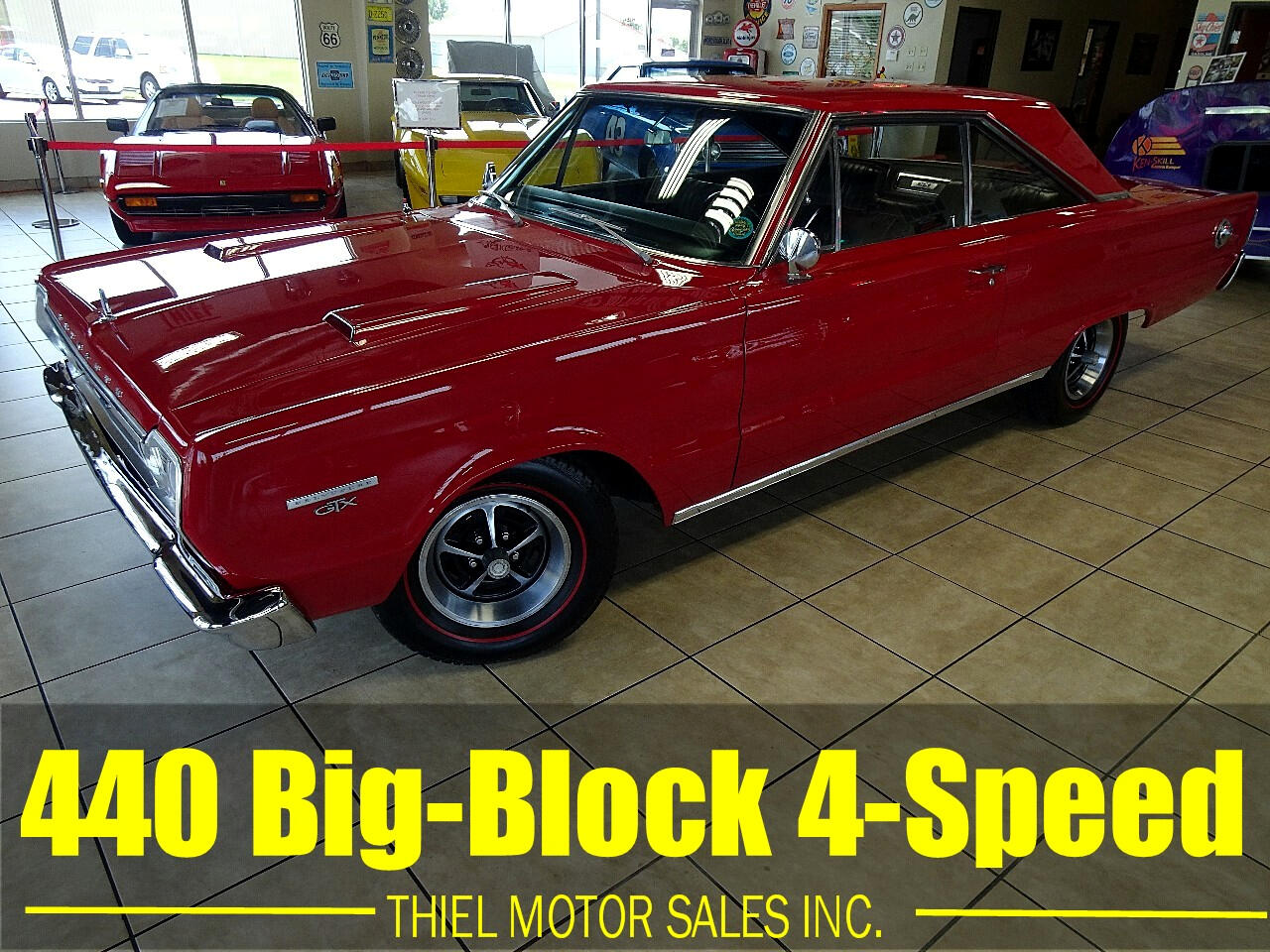 1967 Plymouth GTX 4-SPEED