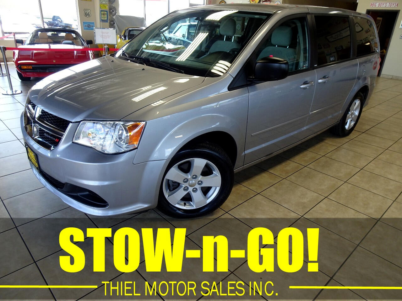 2013 Dodge Grand Caravan SE with STOW-n-GO