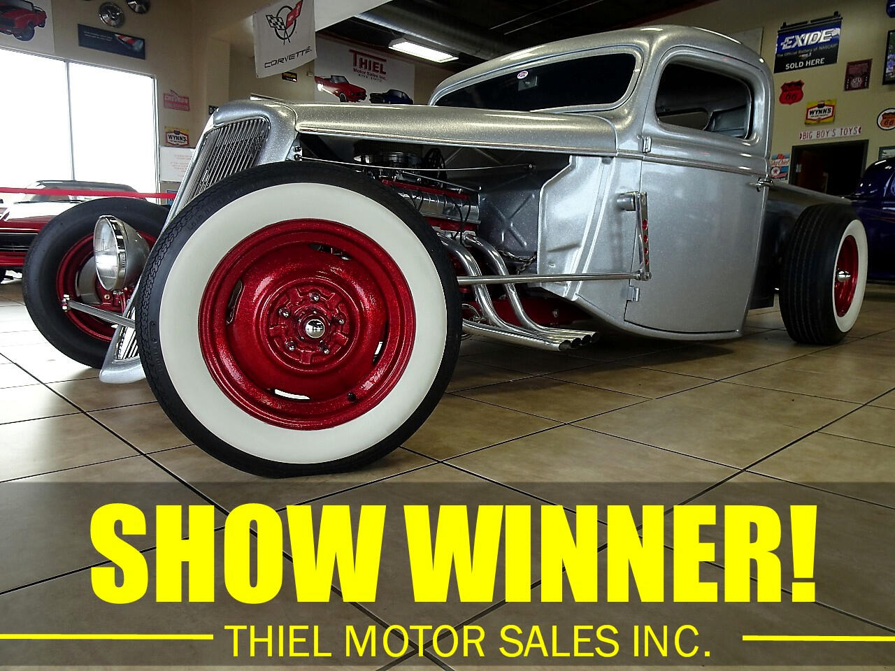 1936 Ford Coupe 3 Window Coupe