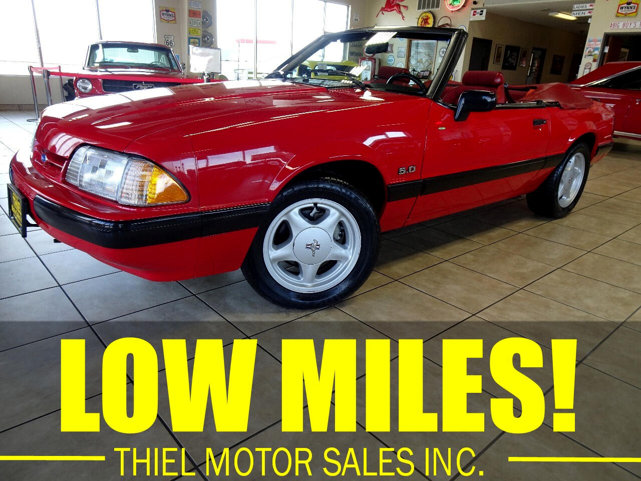 Ford Mustang LX 5.0L convertible 1991