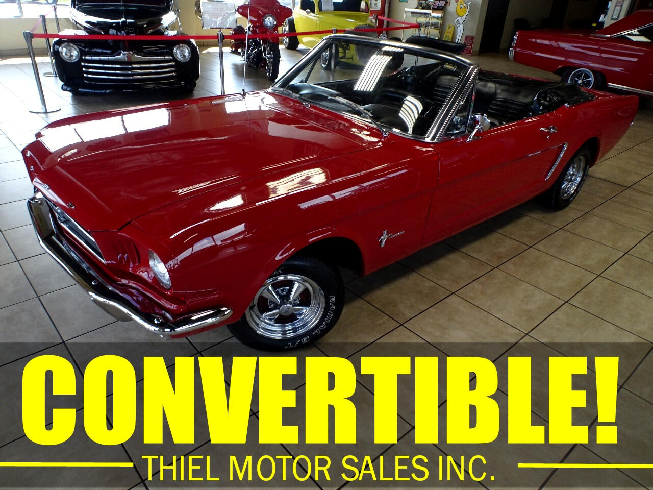 Ford Mustang 2dr Convertible 1965