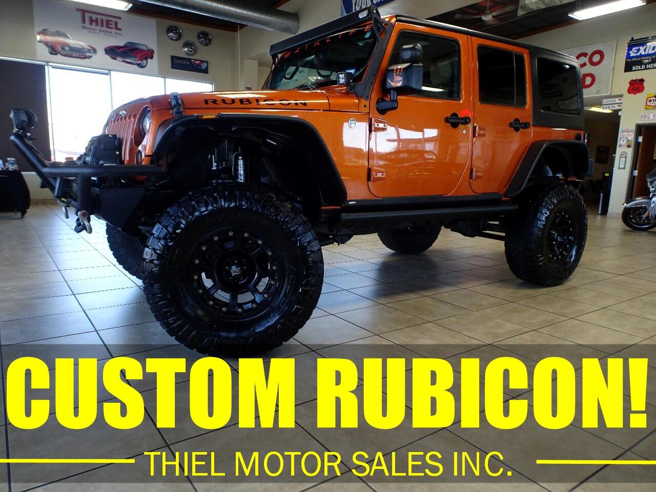 Jeep Wrangler Unlimited Rubicon 4WD 2011