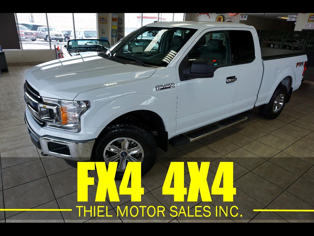 Ford F-150 FX4 SuperCab 6.5-ft. Bed 4WD 2018