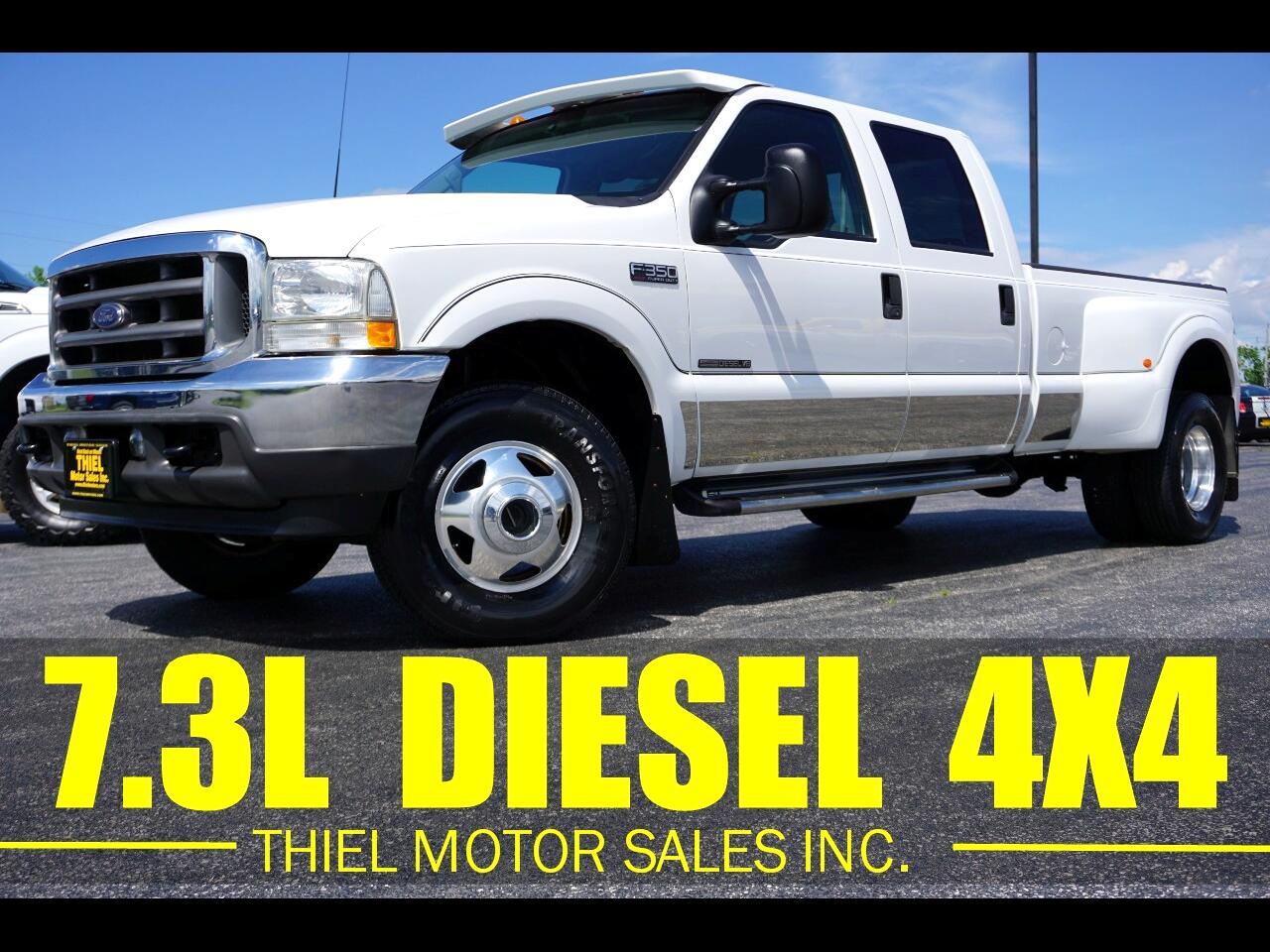 Ford F-350 SD XLT Crew Cab Long Bed 4WD DRW 2002