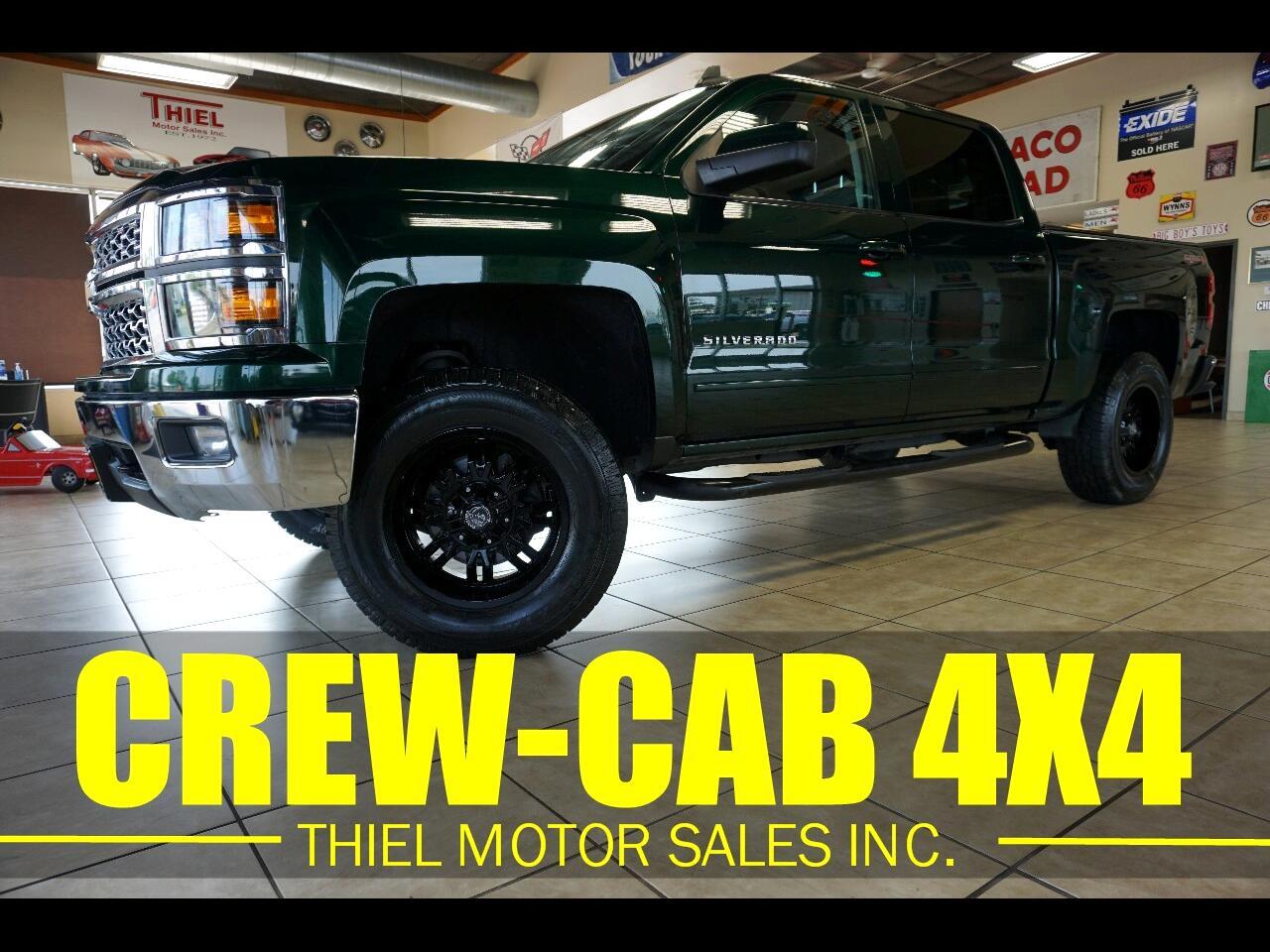 Chevrolet Silverado 1500 LT Crew Cab 4WD 2015
