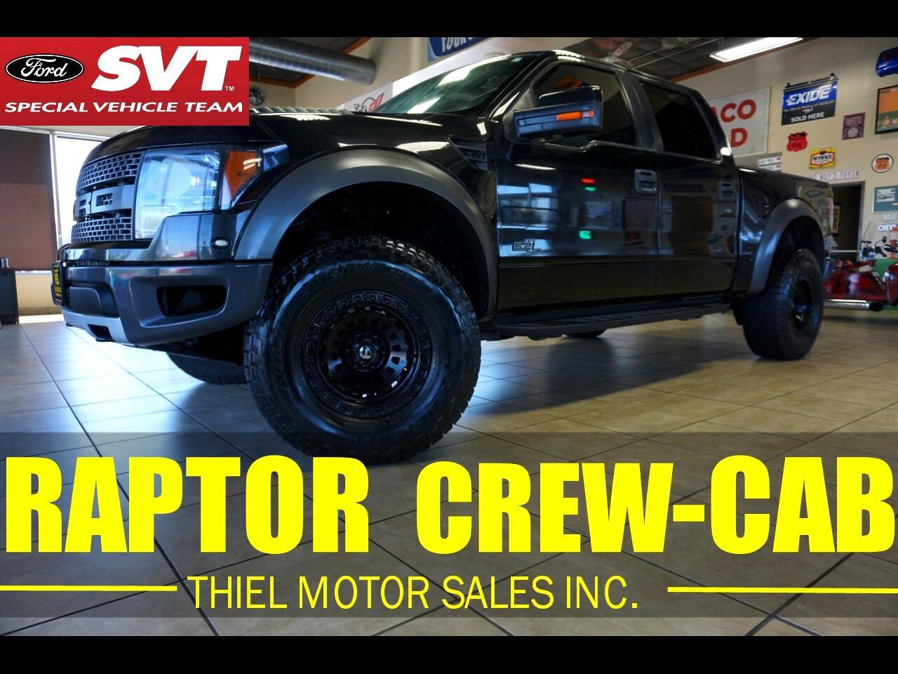 Ford F-150 SVT Raptor SuperCrew 5.5-ft. Bed 4WD 2012