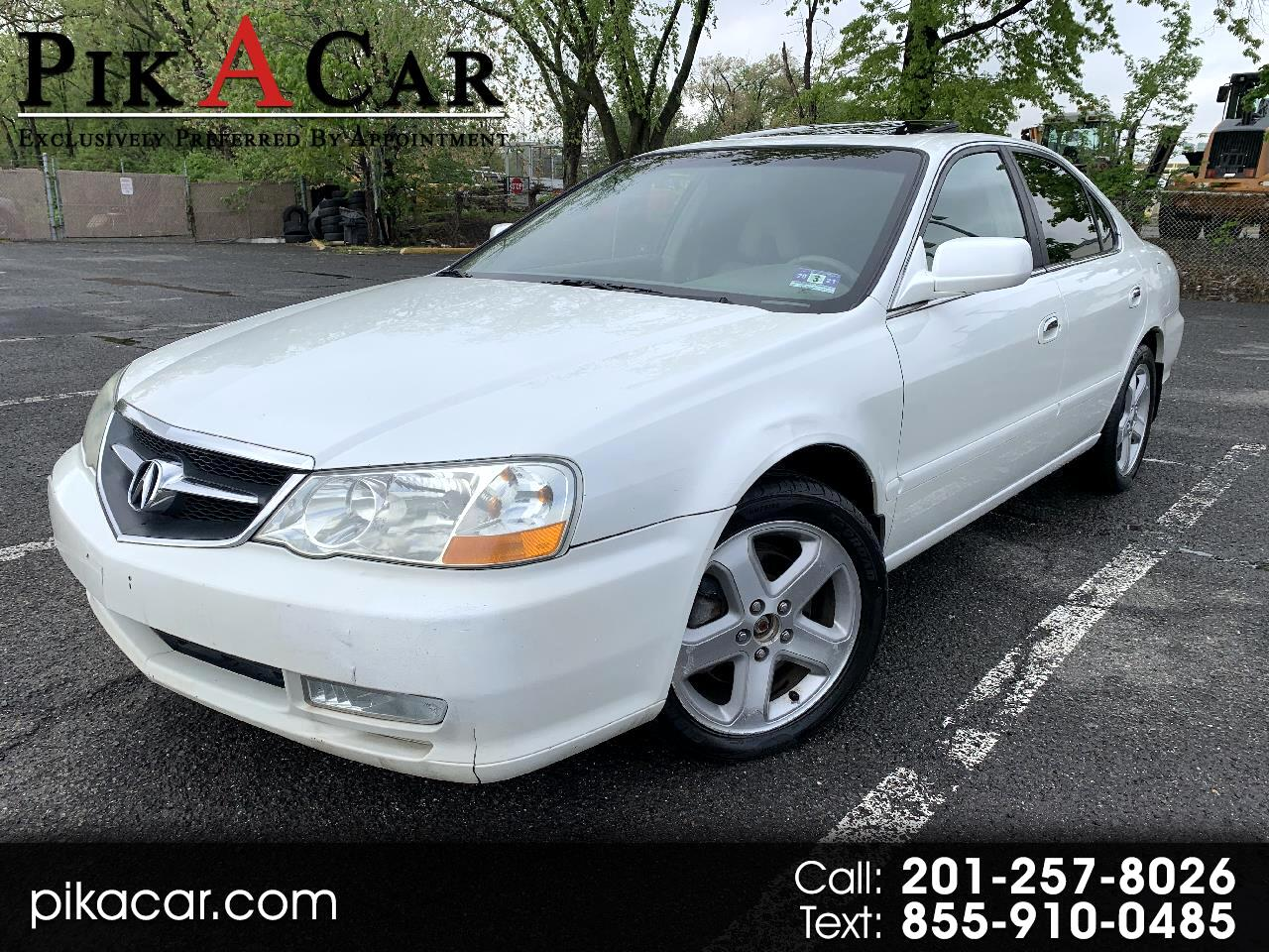 Acura TL Type-S with Navigation System 2002
