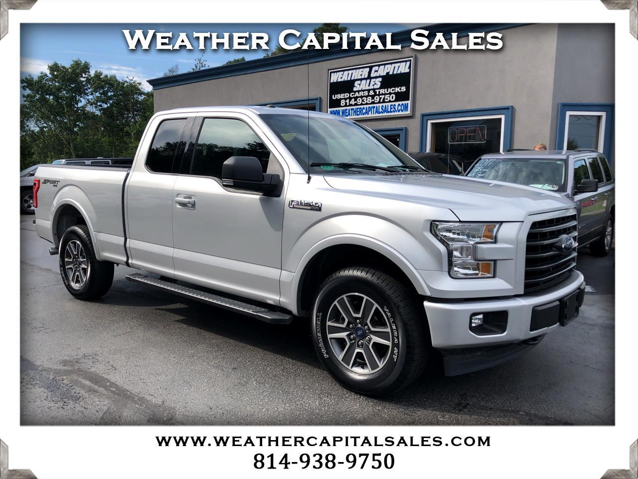 2017 Ford F-150 XLT SuperCab 6.5-ft. Bed 4WD