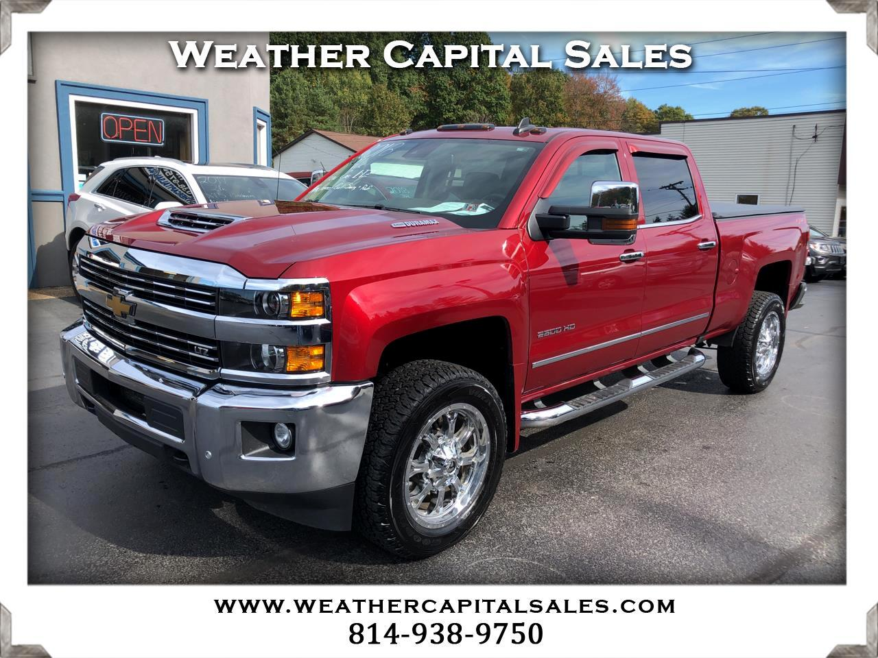 2018 Chevrolet Silverado 2500HD LTZ Crew Cab Short Box 4WD