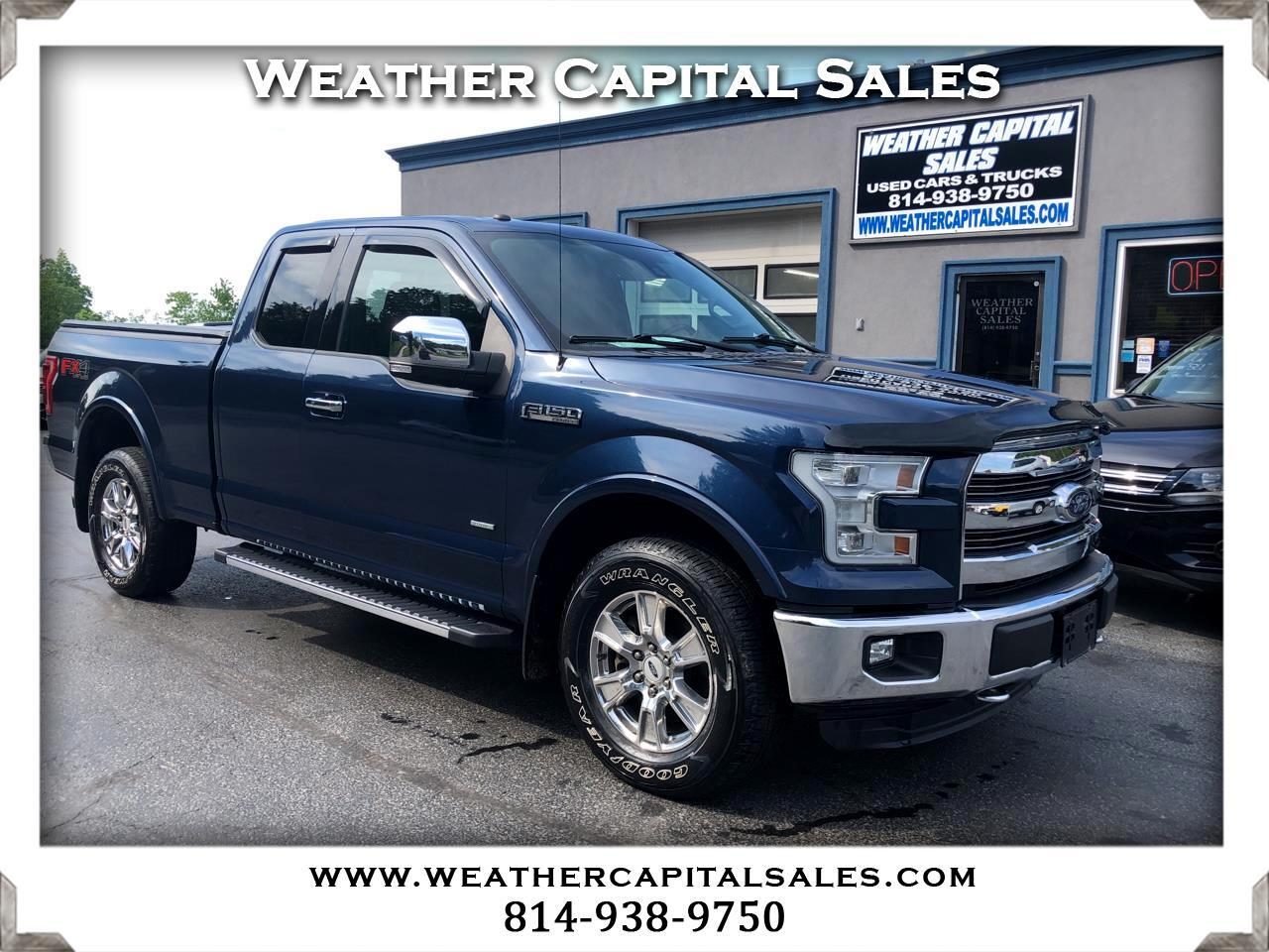 Ford F-150 Lariat 4WD SuperCab 6.5' Box 2016