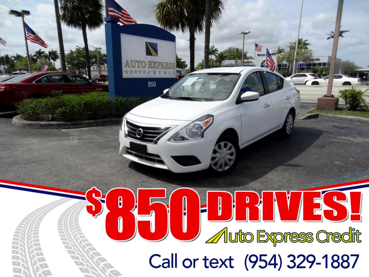 Used 2018 Nissan Versa For Sale In Plantation FL 33317 Auto Express Credit