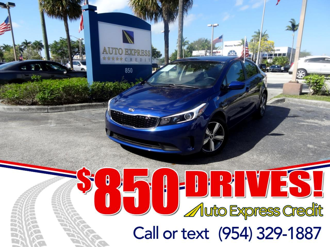 Used 2018 Kia Forte For Sale In Plantation FL 33317 Auto Express Credit