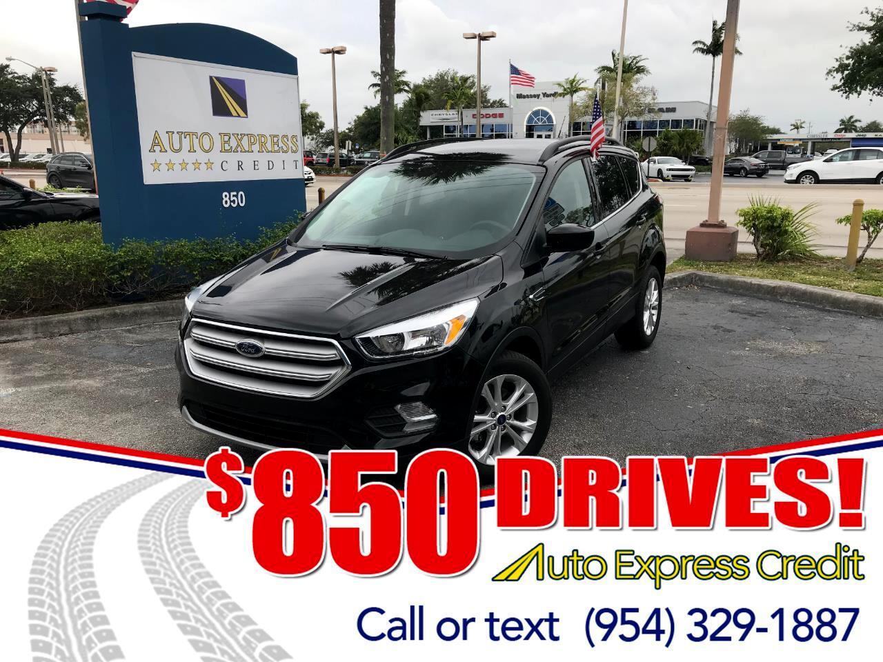 Used 2018 Ford Escape SE FWD For Sale In Plantation FL 33317 Auto