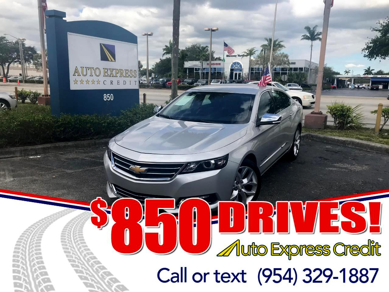 Used 2018 Chevrolet Impala For Sale In Plantation FL 33317 Auto