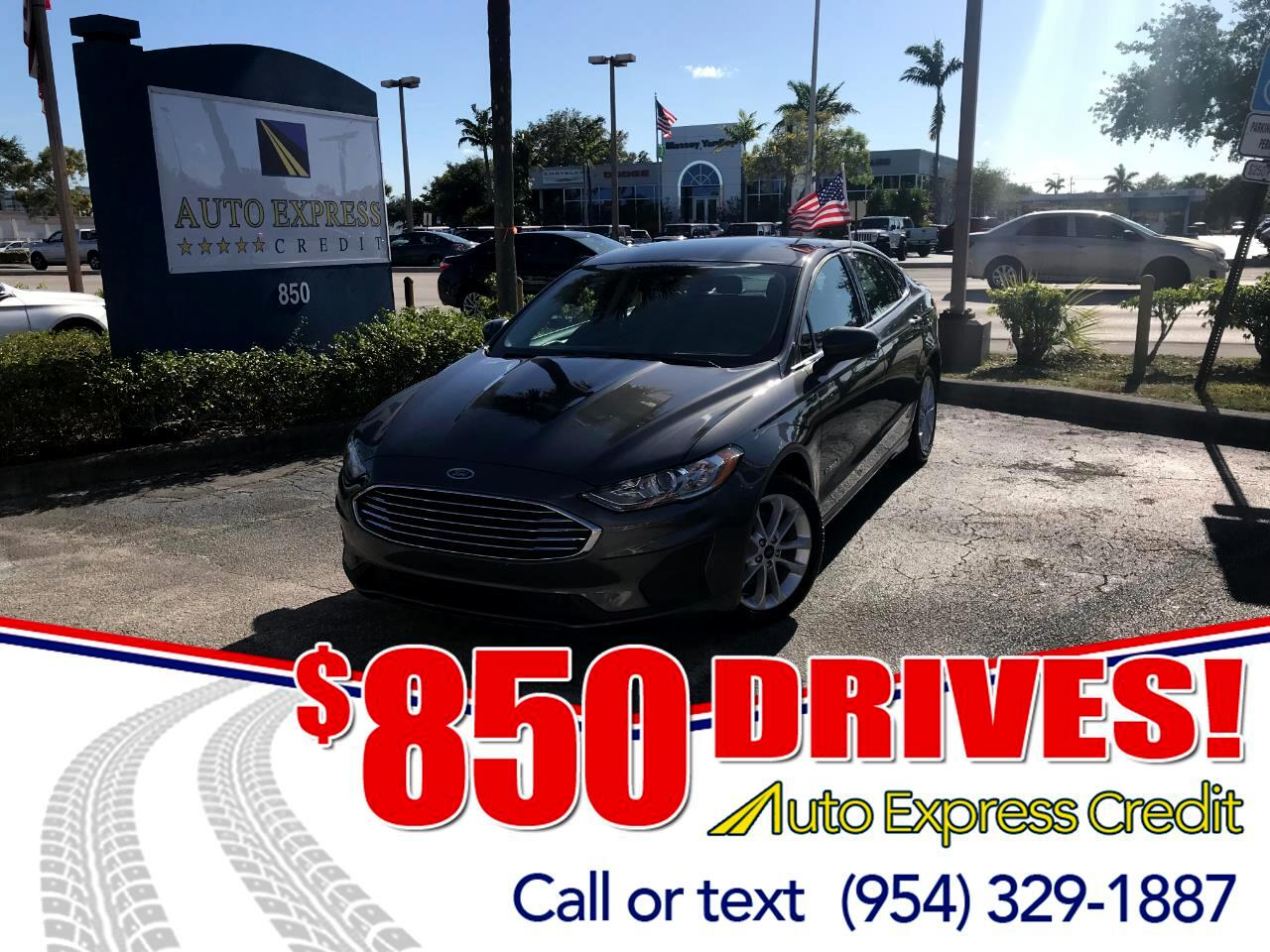 Used 2019 Ford Fusion Hybrid SE For Sale In Plantation FL 33317 Auto