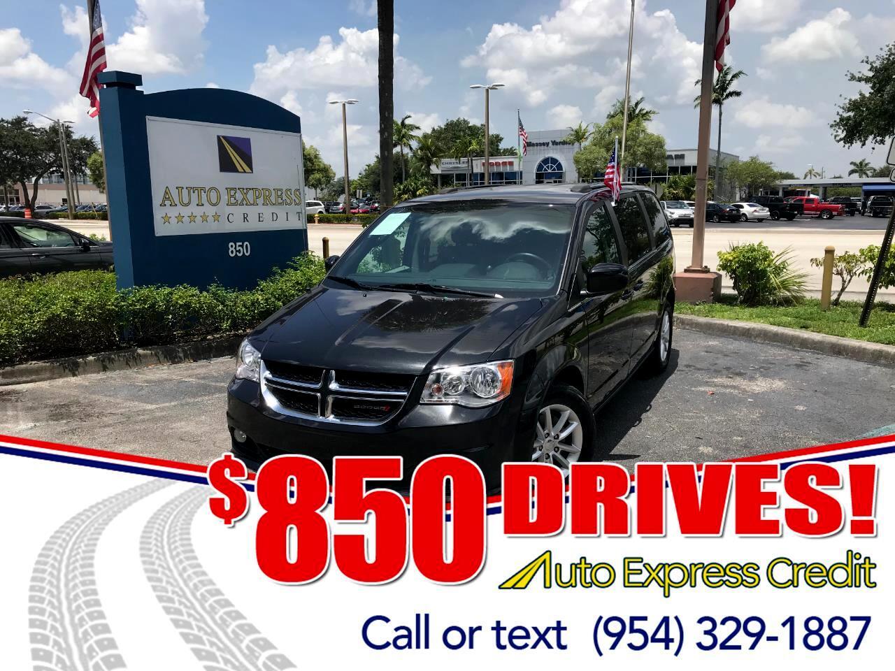 Used 2018 Dodge Grand Caravan SXT For Sale In Plantation FL 33317
