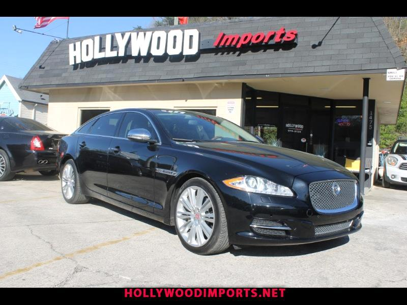 2012 Jaguar XJ-Series XJ Supercharged