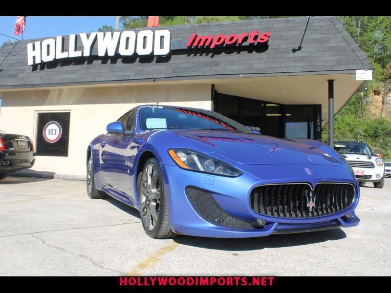 2013 Maserati GranTurismo 2dr Cpe GranTurismo S Auto