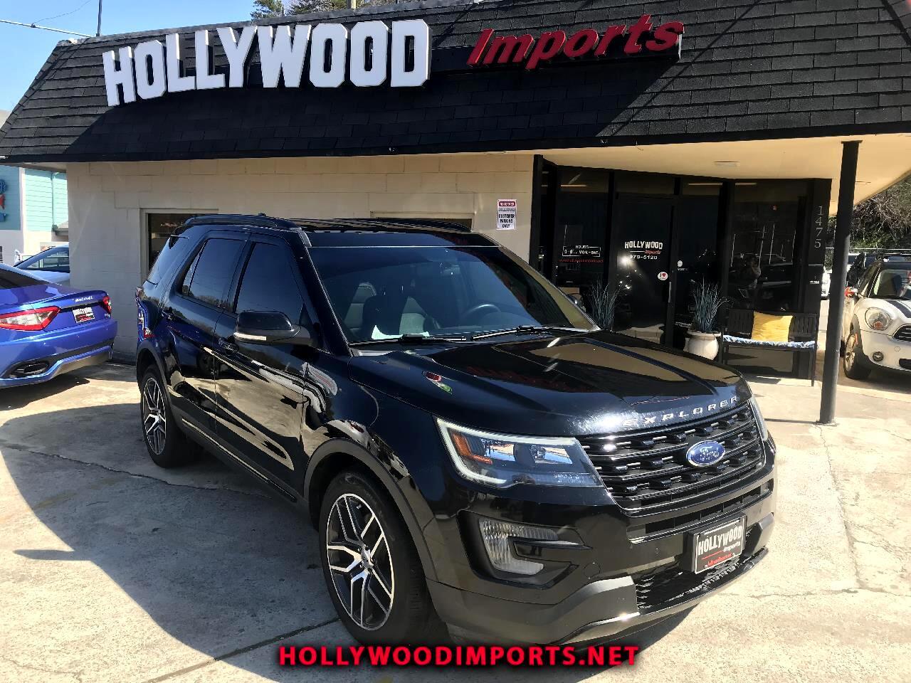 Ford Explorer Sport  2016