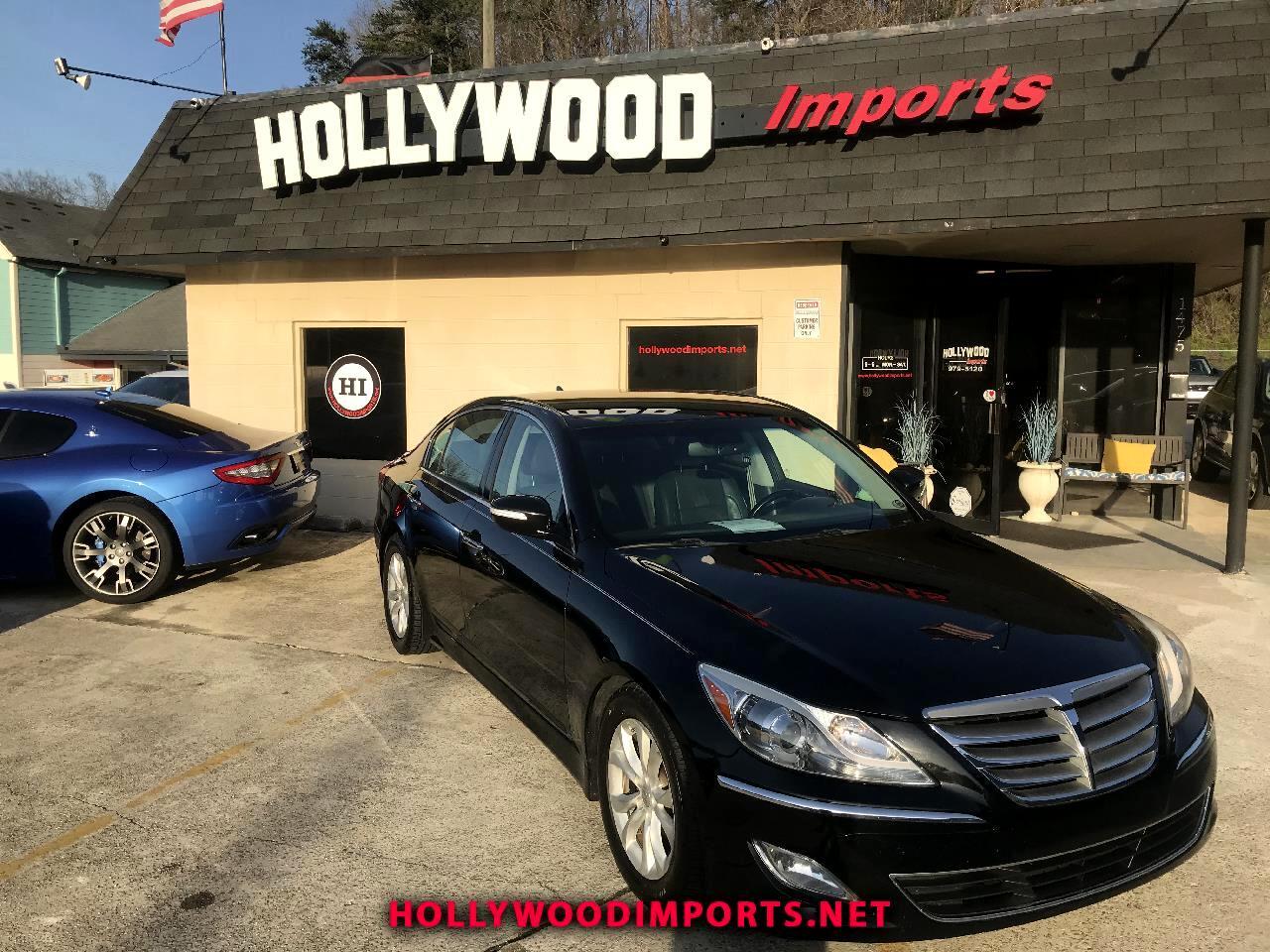 Hyundai Genesis 3.8L 2012
