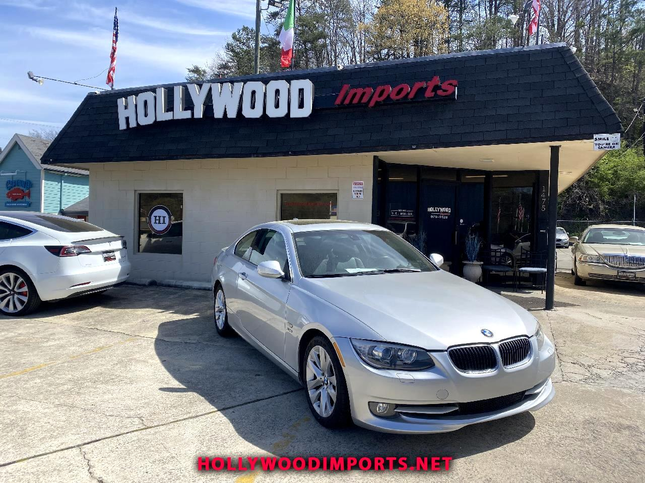 BMW 3-Series 328i xDrive Coupe - SULEV 2012