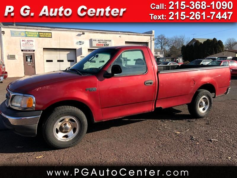 2002 Ford F-150 XL SuperCab 8-ft. Bed 2WD
