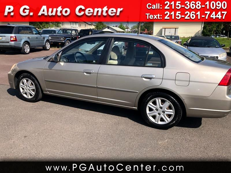 2003 Honda Civic 1.5 4-Door Sedan