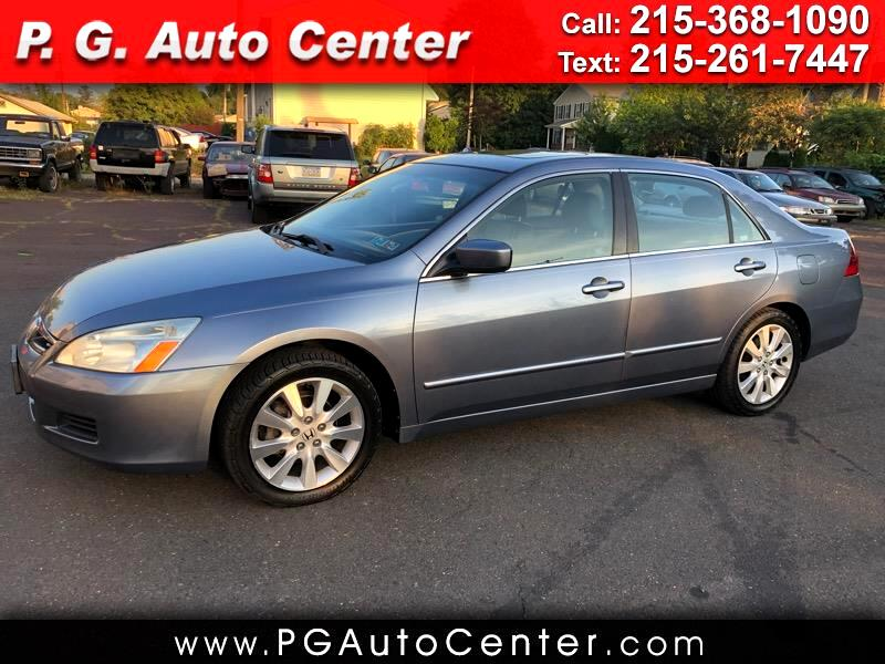 2007 Honda Accord EX-L V-6 Sedan AT