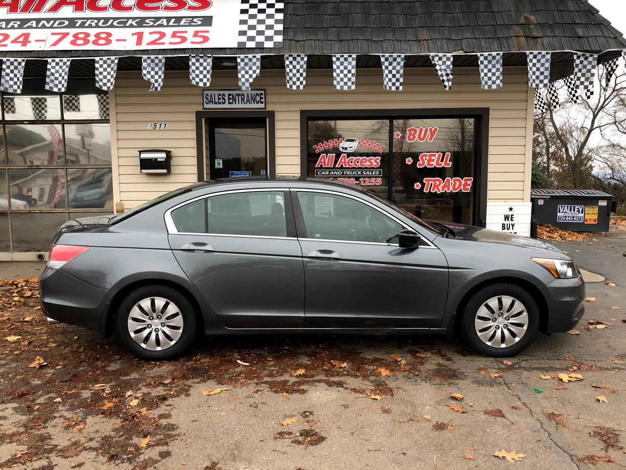2012 Honda Accord Sdn 4dr I4 Man LX