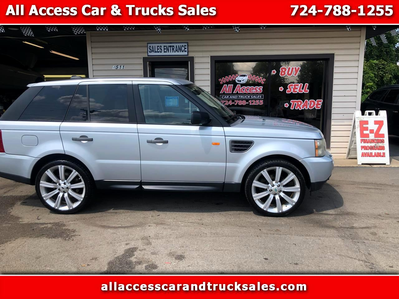 2007 Land Rover Range Rover Sport 4WD 4dr HSE